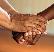 How to Become Good Listener - holding hands
