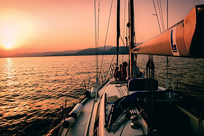 What is a Dream Life - sailing into sunset