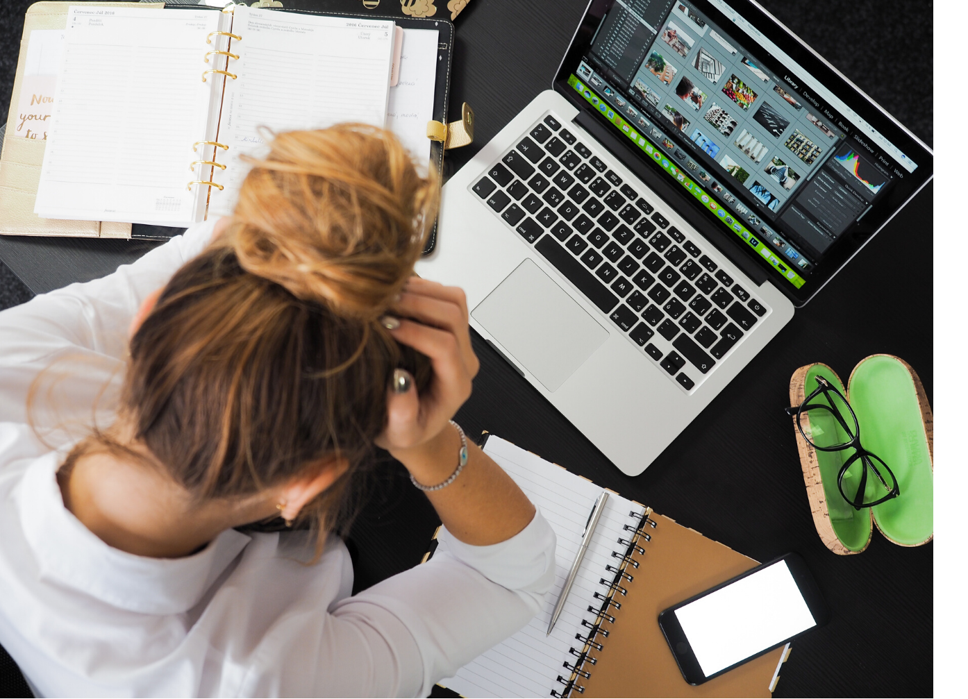 Is My Job Killing Me - woman stressed