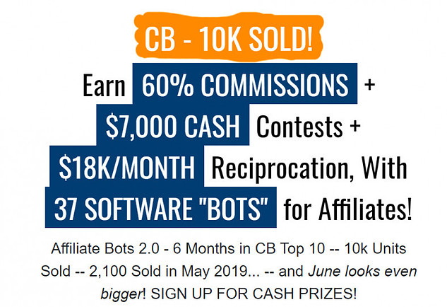 What Is Affiliate Bots 2.05 About? - CB 10K sold