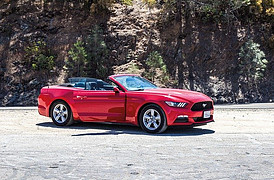 How to Make Law of Attraction Work - red mustang convertible