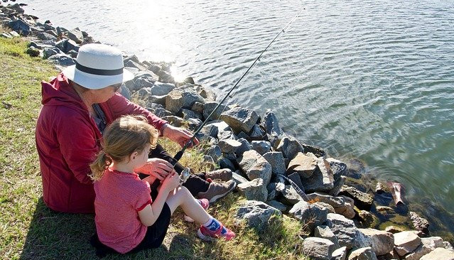 Why Should I Have a Mentor - mentoring a kid to fish