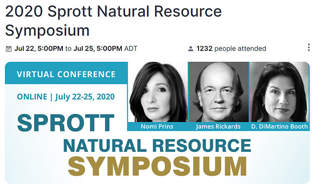 Is Jim Rickards Project Prophecy A Scam? - sprott natural resource symposium