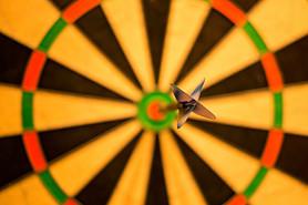 What is Goal Planning? Bullseye on dartboard