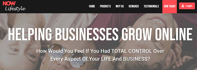 What Is Now Lifestyle About - helping business grow online
