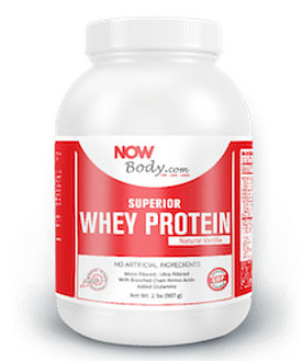What Is Now Lifestyle About - whey protein bottle