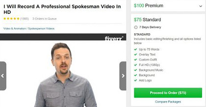 What Is Home Income System About? - picture of Jason on Fiverr site