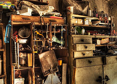 What is Disorganization? - workshop filled with tools everywhere