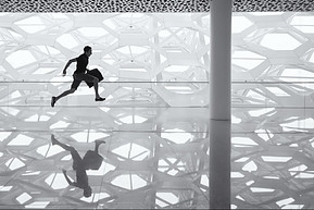 What is Disorganization? - man running with briefcase in hand