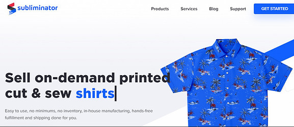 What Is The Best Print On Demand? - Sell on demand print cut and sew shirts