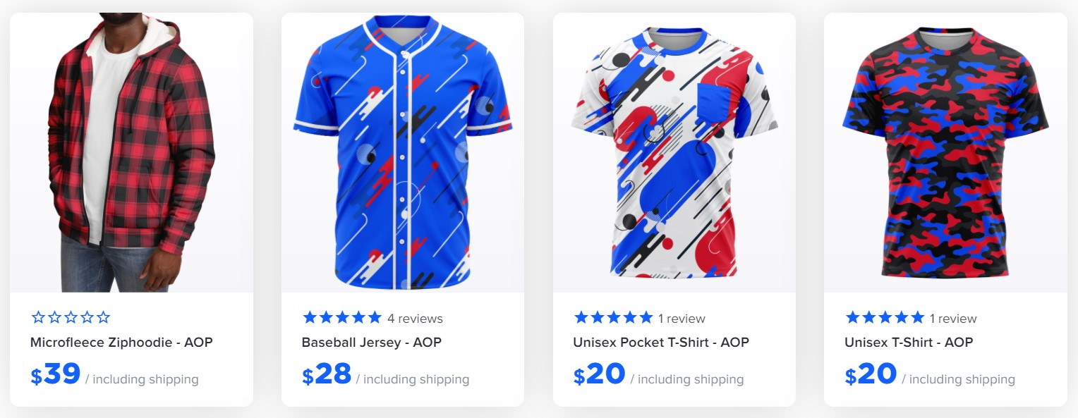 What Is The Best Print On Demand? - Printed clothing